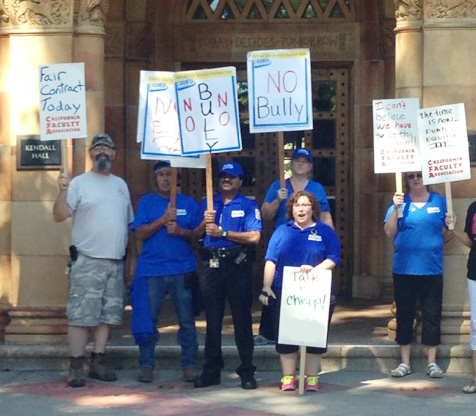 Chico Chapter Rallies Against Inequities
