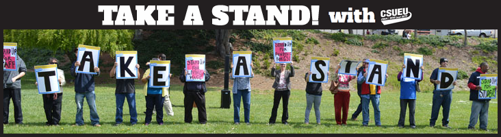 Take a Stand! rally at CSU East Bay