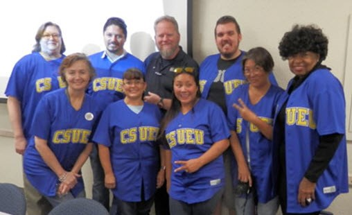 CSUEU Chapter 317 E-Board Officers